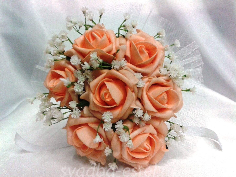 Свадебные букеты пошаговое фото