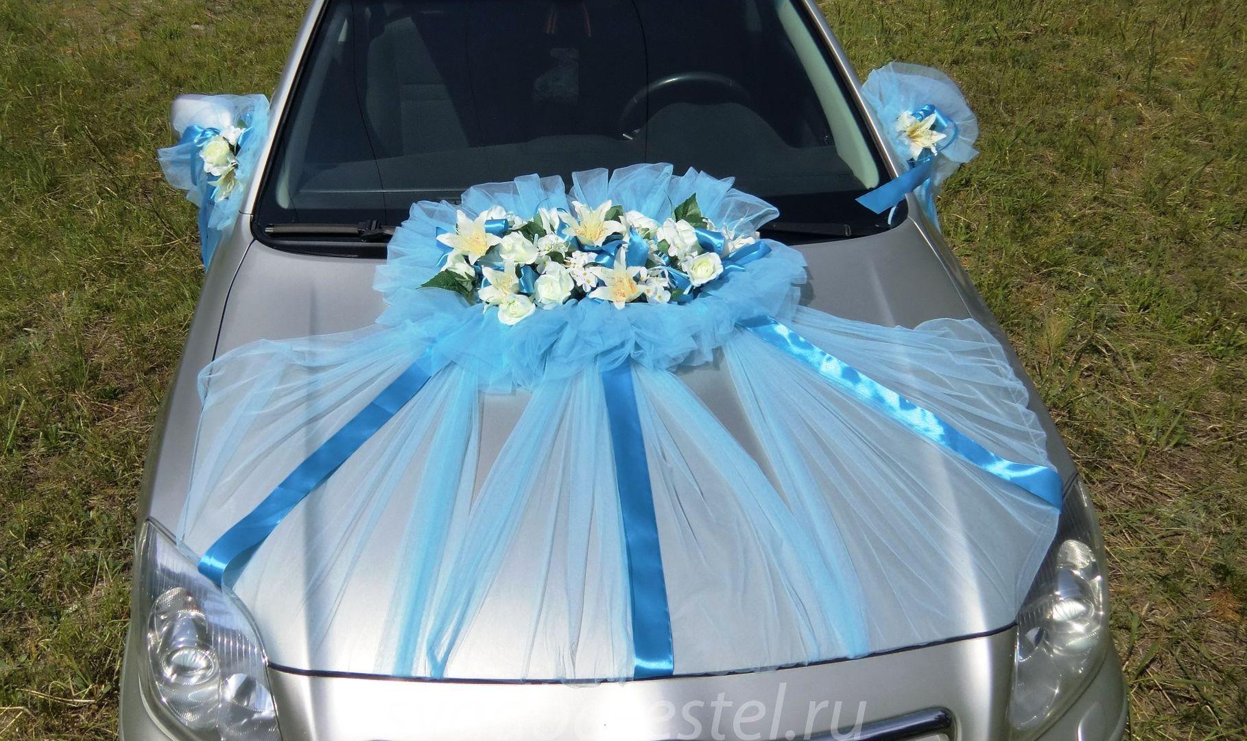 Украшения из цветов на свадебную машину своими руками мастер класс 75