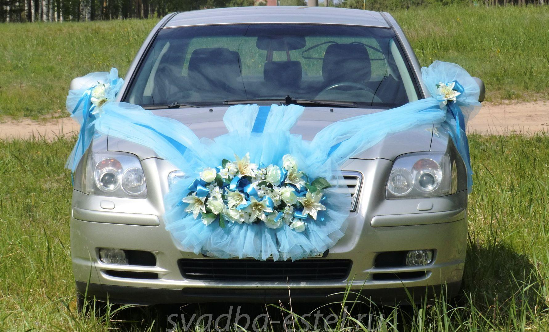 Как украсить свадебную машину своими руками : фото, видео оформления 7